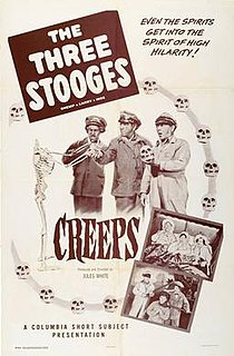 <i>Creeps</i> (film) 1956 film by Jules White
