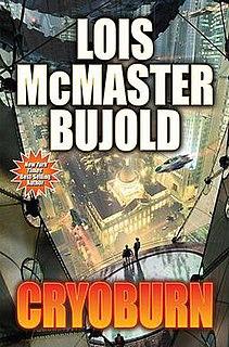 <i>Cryoburn</i> novel by Lois McMaster Bujold