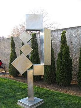 Hirshhorn Museum and Sculpture Garden - David Smith, Cubi XII (1963)