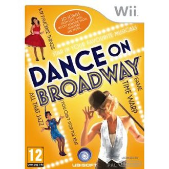 Dance on Broadway - PAL Box art