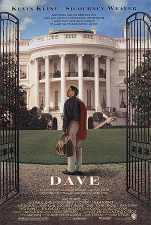 Dave (film) - Theatrical release poster
