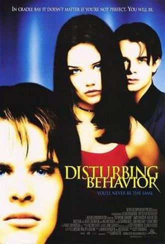 Disturbing Behavior - Theatrical release poster