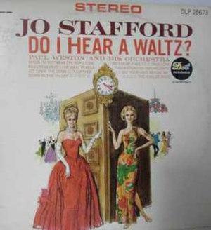 Do I Hear a Waltz? (Jo Stafford album) - Image: Do i hear a waltz jo stafford