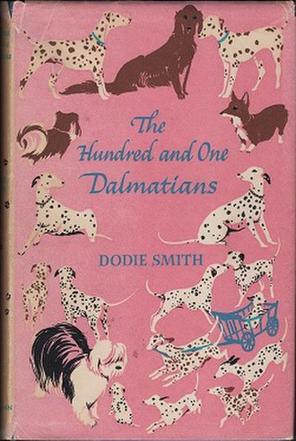 The Hundred and One Dalmatians - First edition cover