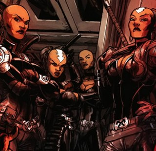 Dora Milaje Fictional team of female characters within the Marvel universe