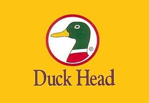 Duck Head - Duck Head's logo depicts the head of mallard duck.