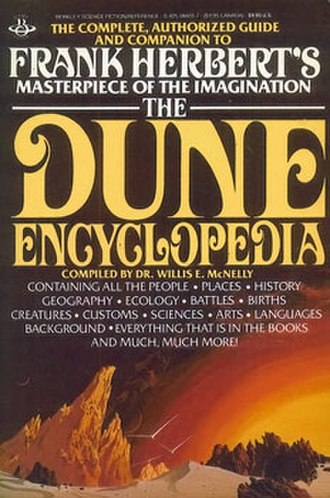 The Dune Encyclopedia - First edition cover