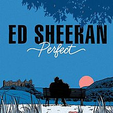 Charming Ed Sheeran Perfect Single Cover