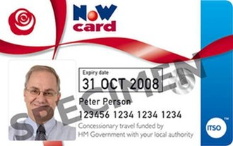 English National Concessionary Travel Scheme - The new English National Concessionary Bus Travel Scheme bus pass
