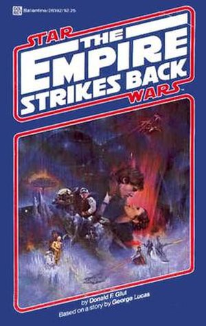 The Empire Strikes Back (novel) - Image: Episodev empirestrikesback