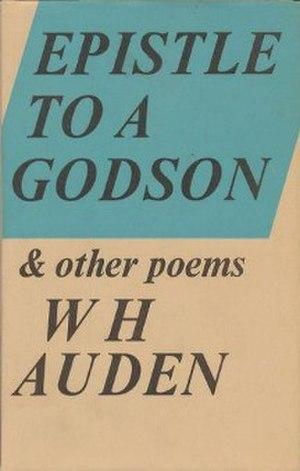 Epistle to a Godson - First UK edition (publ. Faber & Faber)