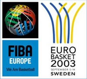 EuroBasket 2003 - Image: Eurobasket 03 logo