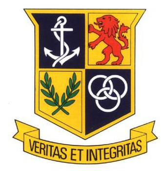 Fairbairn College - Image: Fairbairn College badge in colour
