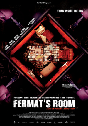 Fermat's Room - International poster