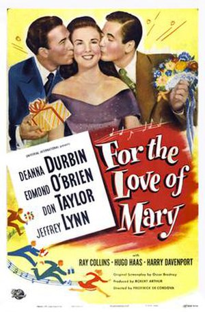 For the Love of Mary - Image: For the Love of Mary Poster