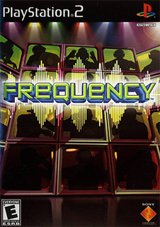 <i>Frequency</i> (video game) video game on Playstation 2