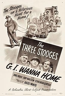 <i>G.I. Wanna Home</i> 1946 film by Jules White