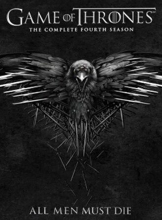 Game of Thrones (season 4) - Region 1 DVD artwork