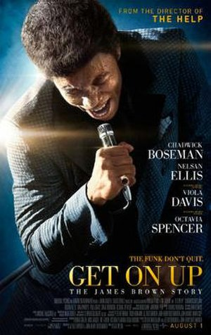 Get on Up (film) - Theatrical release poster