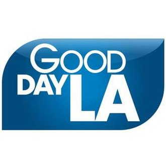 Good Day L.A. - The blue logo of Good Day L.A. was introduced in March 26, 2018