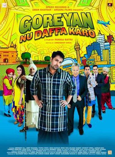 Picture of a movie: Goreyan Nu Daffa Karo
