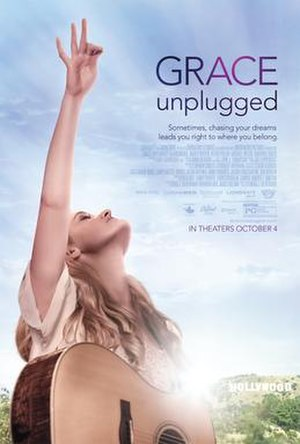 Grace Unplugged - Theatrical release poster