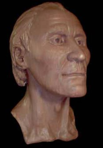 Grauballe Man - Facial reconstruction of the Grauballe Man's face
