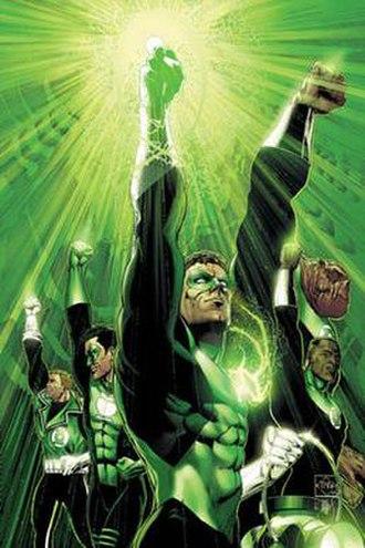 Green Lantern - Image: Green Lantern Rebirth 6