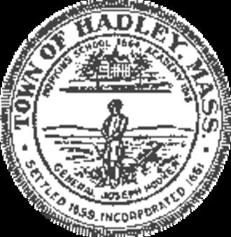 Hadley, Massachusetts - Image: Hadley MA seal