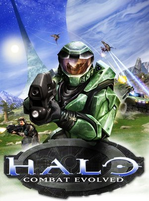 Halo: Combat Evolved - Artwork for U.S. and European releases