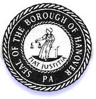 Hanover, Pennsylvania - Image: Hanover PA seal