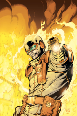Heat Wave (comics) - Image: Heat Wave (DC Comics character)