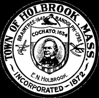 Holbrook, Massachusetts - Image: Holbrook MA seal