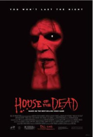 House of the Dead (film) - Theatrical release poster