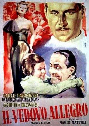Il vedovo allegro - Image: Il vedovo allegro 1949 poster