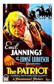 the patriot 1928 film wikipedia