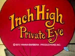 Inch High, Private Eye - Image: Inch High Private Eye logo