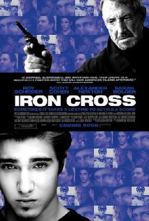 Iron Cross (film) - Theatrical release poster