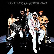 De la stânga la dreapta: Ernie Isley, O'Kelly Isley Jr, Ronald Isley, Chris Jasper, Rudolph Isley și Marvin Isley
