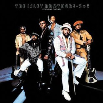 The Isley Brothers - From left to right: Ernie Isley, O'Kelly Isley Jr, Ronald Isley, Chris Jasper, Rudolph Isley and Marvin Isley