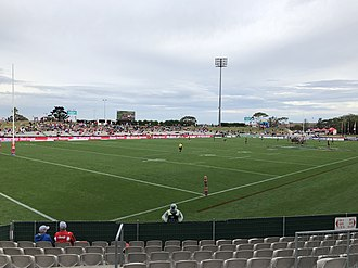Jubilee Oval - A view of the ground prior to a match between the St. George Illawarra Dragons and Canterbury-Bankstown Bulldogs in August 2018.