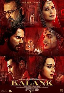 <i>Kalank</i> 2019 Indian Hindi-language period drama film