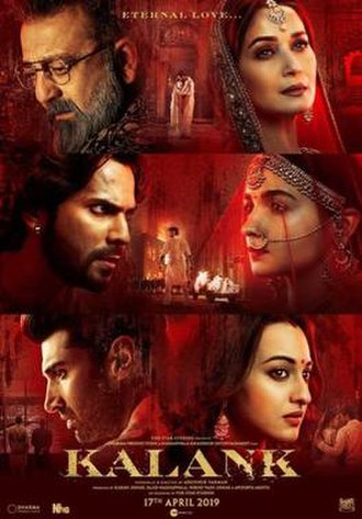 Kalank - Theatrical release poster