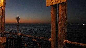 Jimmy Buffett's Margaritaville - Dockside at Margaritaville in Cozumel at sunset