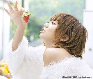 <i>Best: Third Universe</i> 2010 compilation album by Kumi Koda