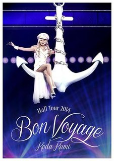 <i>Hall Tour 2014: Bon Voyage</i> 2014 video by Koda Kumi