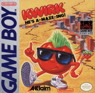 Kwirk - Game Boy cover art
