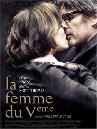 The Woman in the Fifth - Theatrical release poster in France