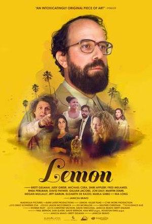 Lemon (2017 film) - Theatrical release poster