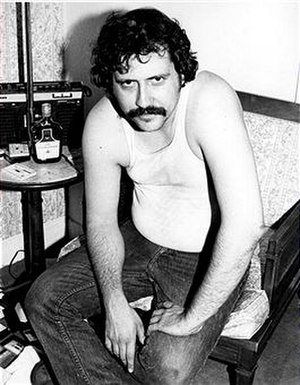 Lester Bangs - Bangs photographed by Roberta Bayley in 1976.